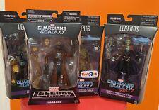 Marvel Legends Guardians of the Galaxy Star-lord, Gamora, Drax, Groot Lot