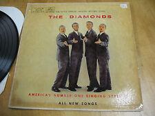 THE  DIAMONDS AMERICA'S No. 1  SINGING STYLISTS MERCURY MG 20309