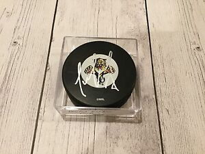 Dmitry Kulikov Florida Panthers Signed Hockey Puck Autographed d
