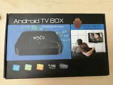 Android 4.4 Smart TV Box 2.4/5G WIFI 2/8G BT4.0 STB With MX3 Air Mouse Backlit