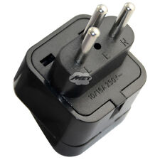 Swiss Switzerland to UK US EU AU Universal Power Plug Travel Adapter Converter