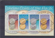 TOKELAU MNH STAMP SHEET 2009 COINS OF THE PACIFIC SG MS412