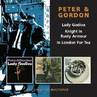 Peter & Gordon - Lady Godiva / Knight in Rusty Armour / in London [New CD] UK -