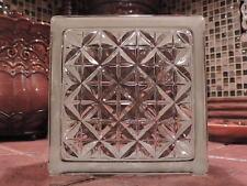 Glass Blocks By Weck. 1 case.(10 pcs per case) BRAND NEW! 0663 AKTIS. 6x6x3-1/8
