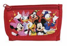 Disney Mickey Mouse wallet Red Children Boys Girls Wallet Cartoon Coin Purse