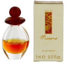 Eau de Murano by Murano For Women Mini EDP Perfume Splash 0.17oz (50% fill) SW