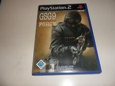 PLAYSTATION 2 PS 2 gsg9 anti-terrorismo Force (7)