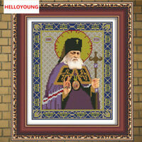 DIY 5D Diamond Painting Cross Stitch Ikons Human Series Religion Diamond Mosaic