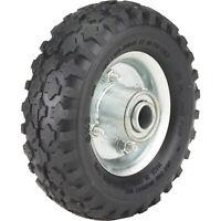 Ironton 6in. Pneumatic Wheel and Tire- 200-Lb. Capacity, Knobby Tread