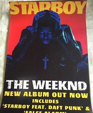 The Weeknd Abel Tesfaye Starboy Album Cover poster A2 A1 A0 sizes