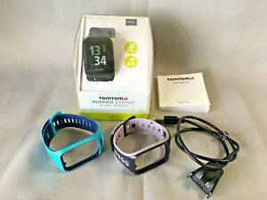 Tomtom RUNNER 2 Music GPS Watch - Small - with 2 Extra straps