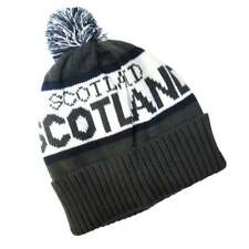 Scotland Beanie Hat - Grey - New scts034