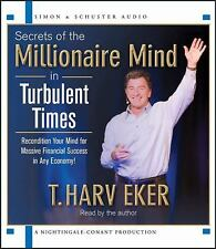 Secrets of the Millionaire Mind in Turbulent Times by T. Harv Eker (2011, CD,New