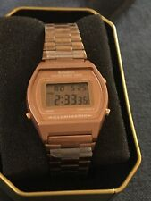 Casio Vintage Collection Digital Women's Watch Rose Gold NEW WITH TAGS