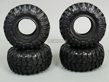 RC 1/10 Truck SWAMPER KNOBBY TIRES W/ Foam 2.2 BEADLOCK Rock Crawler (4PCS)