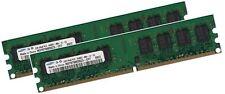 2x 1GB 2GB SAMSUNG RAM PC Speicher DDR2 800 Mhz PC2-6400U Arbeitsspeicher DIMM