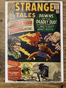 Strange Tales #126/Silver Age Comic Book/1st Dormammu/VG