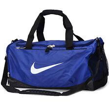 Nike Duffel Bag Max Air Training Bags Sports Purple Black White Gym BA4895 501