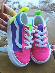 Vans Pink/Purple Girls' BRAND NEW Toddler 5C