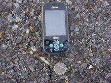 LG Neon GT365 cell phone slider blue used PARTS AT&T ATT GT 365