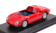 Ferrari 250 Lm Spyder 1965 Prova Red 1:43 Model BEST MODELS