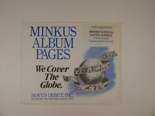 Minkus British North & South America 1994 Without Guyana Stamp Album Pages
