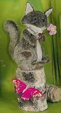 "Hoff Interieur 3754 Figura ""REINECKE Zorro ""13 x 18cm decorativa con flor"