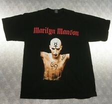 Vintage Marilyn Manson I'M Not A Slave Xl T Shirt 22x31 By Giant Hard to Find