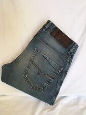 Diesel KROOLEY WASH 0885Y  Regular Slim-Carrot Distressed Jeans W31 L30 (D1228)