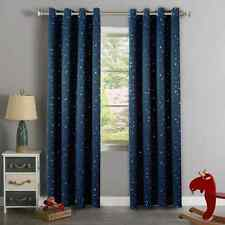 H.Versailtex Cute Star War Pattern Thermal Insulated Blackout Kids Room Curtains