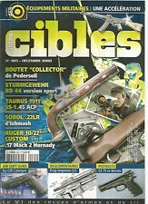 """CIBLES N°465 EQUIPEMENTS MILITAIRES /BOUTET """"COLLECTOR"""" /TAURUS 1911 SS-1.45 ACP"""