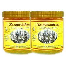 (12,95 EUR/kg) 2x 500g Rosmarinhonig Rosmarin Honig