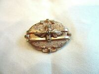 Antique Gold Filled Victorian Collar Pin or Pendant
