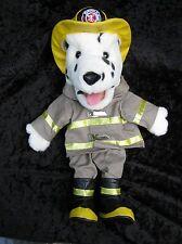 Dalmatian Fireman Firefighter Dog Plush Hand Puppet Stage Pretend Preschool