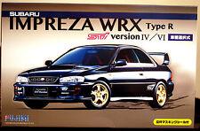 1997-99 SUBARU IMPREZA WRX STI Type R vers. IV & vi JDM, 1:24, FUJIMI 039398