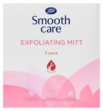 Boots Smooth Care Exfoliating Mitt For Legs 3 Mitt Pack Regrowth/Skin/Care/NEW