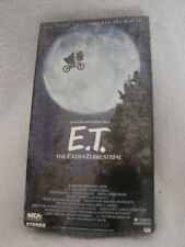 Rare Sealed E.T. The Extra Terrestrial 1988 VHS Green Black Edition MCA Video