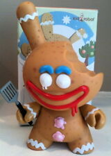 "DUNNY 3"" KRONK 2007 GINGERMAN BITTEN CHASE GINGERBREAD MAN CHRISTMAS HOLIDAY TOY"