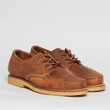 Red Wing Heritage Handsewn Oxford 9155, Size 7E. Copper Leather.