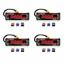 Venom 7.2V 5000mAh 6 Cell NiMH Battery with Universal Plug System x4 Packs