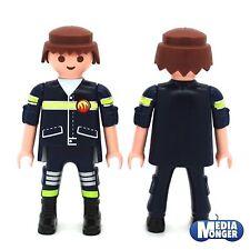 playmobil® Feuerwehr Figur: Feuerwehrmann | Firefighter | braun | Rettung