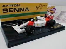 MINICHAMPS 540924301-McLaren Honda mp4/7 Formule 1 1992 Ayrton Senna 1:43 Nouveau