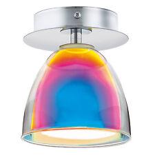 Deckenleuchte Design Deckenstrahler Lampe Deckenlampe Bunt Glas Leuchte Lampen