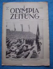 Orig.PRG / Newsletter  Olympic Games G.PARTENKIRCHEN 1936  -  2.Day // 07.02. !!