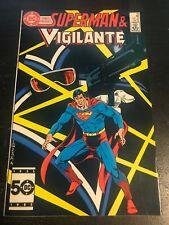 DC Comics Presents#92 Incredible Condition 8.5(1986) Vigilante, Superman!!