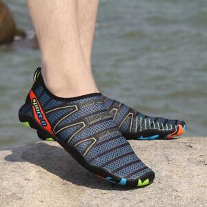 Men Quick-Dry Water Shoes Barefoot Aqua Socks Yoga Beach Comfortable Footwear