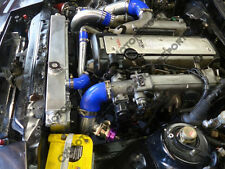 Intercooler + Piping KitFor 1986-1992 Toyota Supra MK3 1JZ-GTE VVTI Stock Turbo