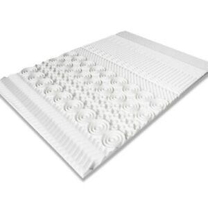 Surmatelas mousse mémoire de forme 10 zones 140X190 cm
