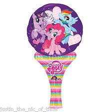Mi Pequeño Pony Girls inflar una divertida forma de Aire Llenar Globo de la hoja Mini