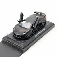 1/43 Scale Lamborghini Aventador SVJ Model Car Diecast Vehicle Collection Black
